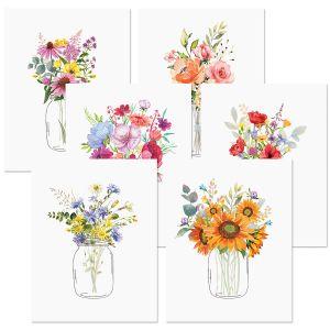 Floral Jars Value Pack