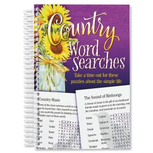 Country Word Search Book