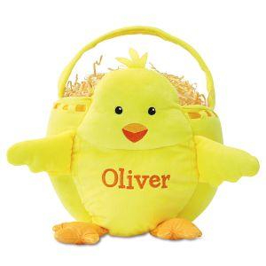 Custom Chick Easter Basket