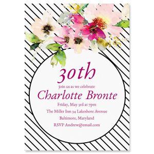 Custom Charmed Milestone Invitations