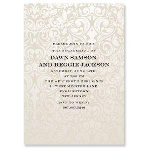 Custom Passion Engagement Invitation