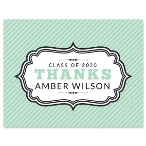 Custom Graduation Thank You Note Cards