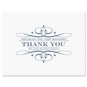 Custom Elegant Thank You Cards