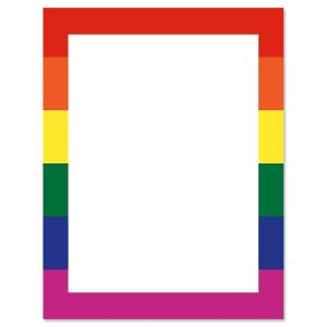 Rainbow Stationary Letter Paper
