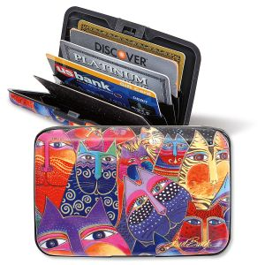 Laurel Burch Cats RFID-Safe Wallet