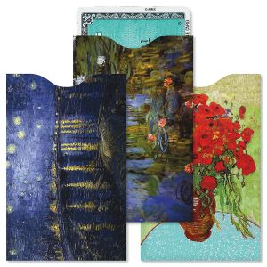 Fine Art RFID Credit Card Sleeves