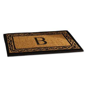 Coco Initial Custom Doormat