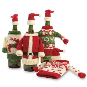 Wine Bottle  Sweater Set