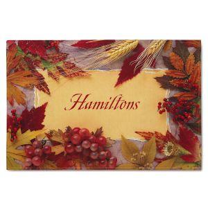 Thanksgiving Personalized Doormat