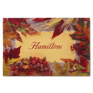 Thanksgiving Personalized Doormat