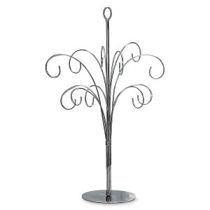 Silvery Ornament Tree
