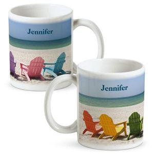 Tropical View  Personalized Mug