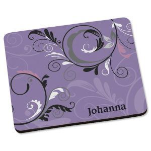 Black & Grey  Personalized Mousepad