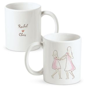 Sisters & Friends Personalized Mug