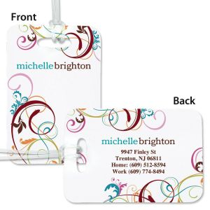 Fantasia Personalized Bag Tag