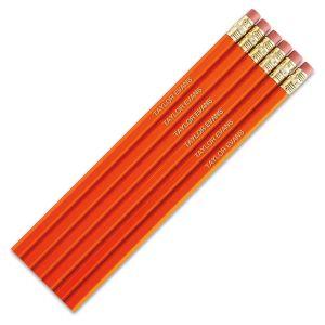 Orange #2 Hardwood Custom Pencils