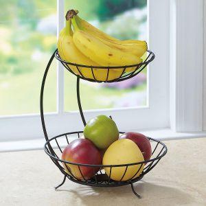 2 Tier Fruit Server