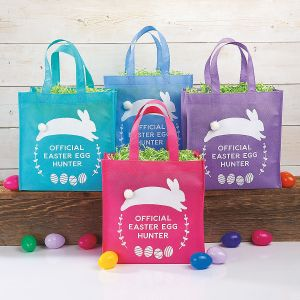Easter Egg Hunt Tote Bag