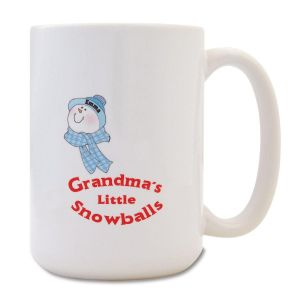 Grandma's Little Snowballs Mug