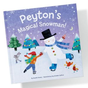 Magical Snowman Custom Storybook