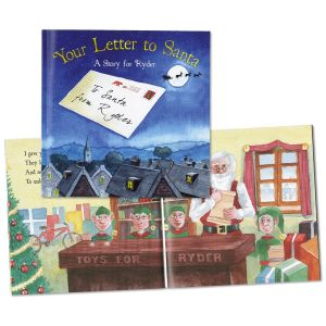 Your Letter to Santa Custom Storybook