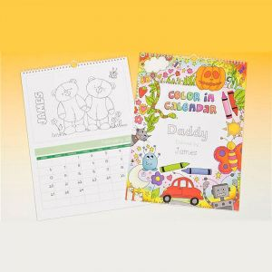 Color-Me-In Wall Calendar