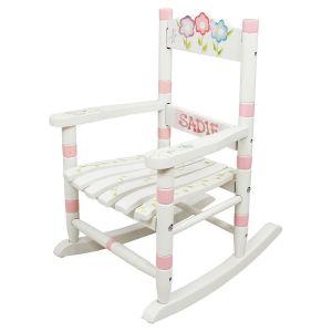 Custom Bouquet Small Rocking Chair