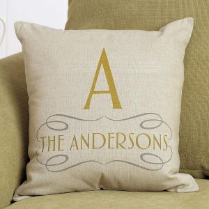 Family Name Personalized Pillow