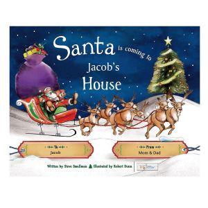Santa is Coming To My House Custom Christmas Storybook