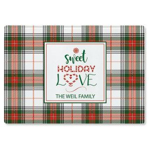 Sweet Holiday Love Custom Cutting Board