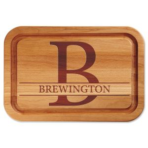 Personalized Initial Custom Wood Cutting Board