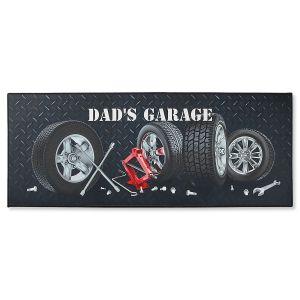 Custom Garage Double-Width Doormat