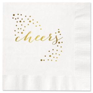 Cheers Cocktail Napkins