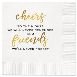 Friends Cocktail Napkins
