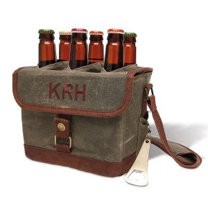 Custom Beer Caddy Cooler Tote