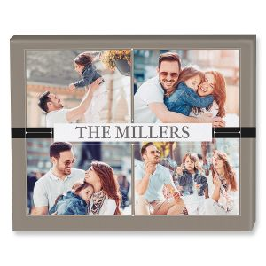 Classic Photo Collage Custom Photo Canvas