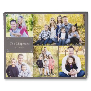 Established Collage Custom Photo Canvas