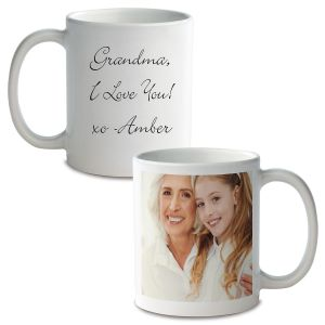 Your Message Ceramic Photo Mug