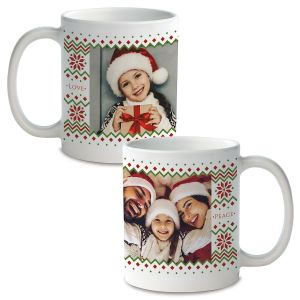 Sweater Ceramic Photo Mug