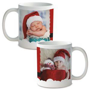 Santa Ceramic Photo Mug