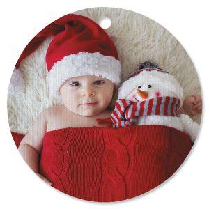 Full Photo Ornament - Circle