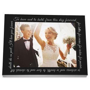 Wedding Custom Photo Plaque