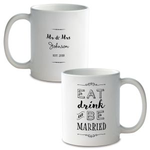 Be Married Personalized Ceramic Mug