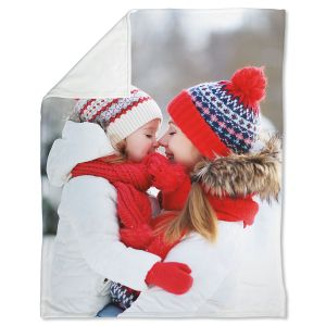 Fleece Full Custom Photo Throw