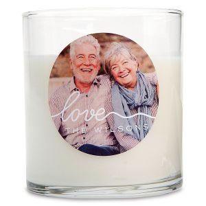Love Custom Photo Candle