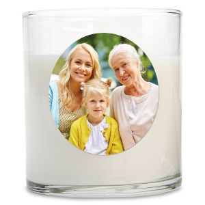 Full Custom Photo Candle