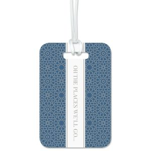 Oh The Places We'll Go Custom Luggage Tag