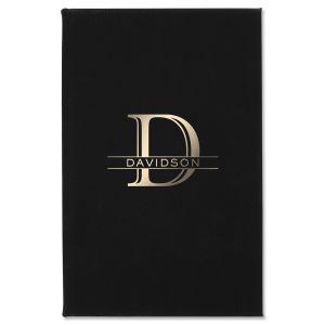 Custom Initial Last Name Journal
