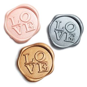 Love Adhesive Wax Seal