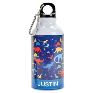 Custom Dinosaur Water Bottle